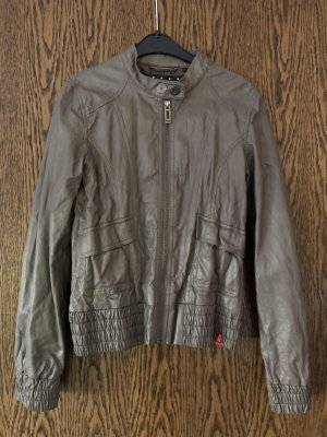 edc by Esprit Faux Leather Jacket multicolored