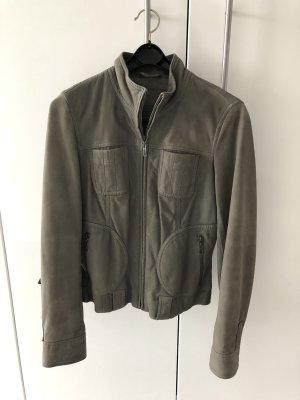 Lederjacke Esprit collection, khaki. Gr. 34