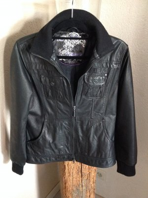 Cecil Leather Jacket black leather