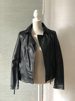 Fritzi aus preußen Faux Leather Jacket black imitation leather