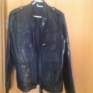 Lederjacke für Mann Größe 48