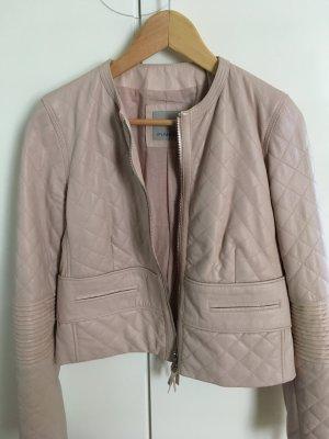 Lederjacke, Größe 38, nude-rosa, sehr weich