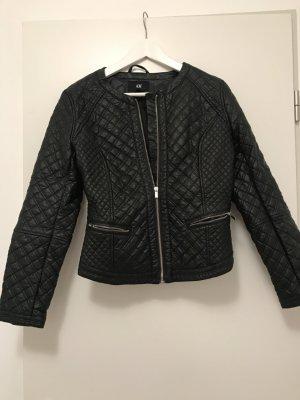 Lederjacke H&M schwarz