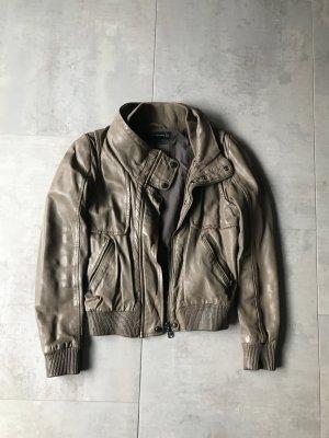 Zara Veste gris brun