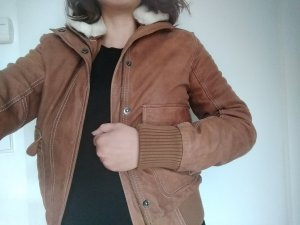 Blaumax Leather Jacket brown
