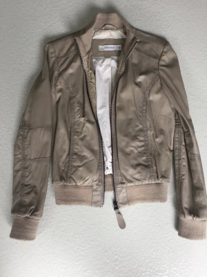 Lederjacke in Blousonform