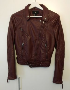 Lederjacke in Bordeaux
