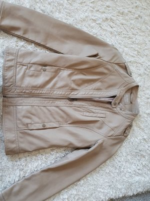 Orsay Leather Jacket grey brown