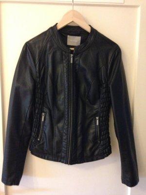 Lederjacke Jacke schwarz 38