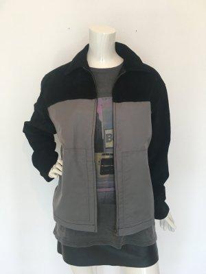 Jay Jays Oversized Jacket black-silver-colored