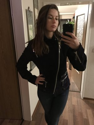 Leather Jacket dark brown