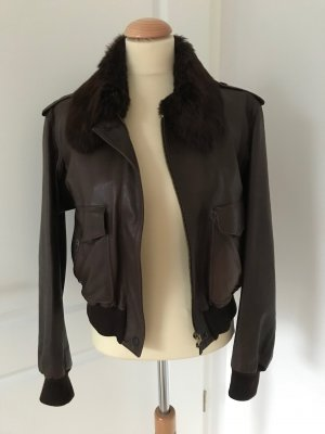 Lederjacke Moschino Cheap & Chic