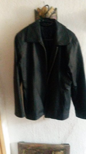 1060 Leather Jacket black leather
