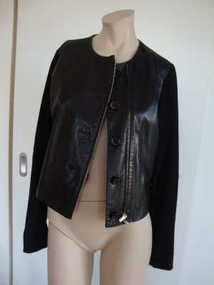 Lederjacke Rene`Lazard 100% Original schwarz wenig getragen TOP WIE NEU!!!