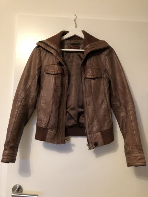 Review Veste bronze cuir