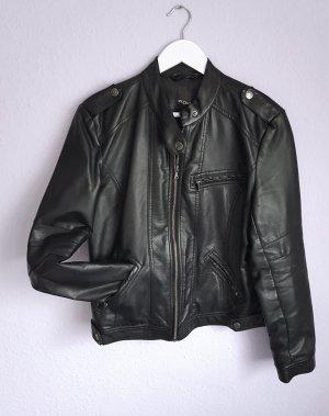 My Own Veste en cuir noir faux cuir