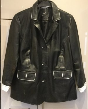 Lederjacke schwarz Größe 44 Emilia Lay