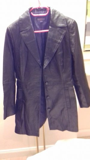 5th Avenue Leather Jacket black leather