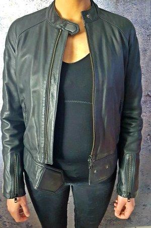 Lederjacke schwarz von Closed Gr S