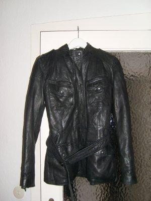 Lederjacke schwarz von Maze