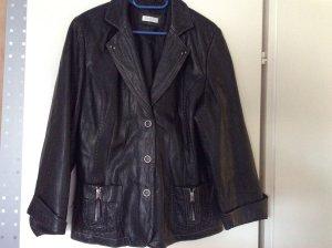 Lederjacke, sehr weiches Leder Gr. 46 von Bonita schwarz