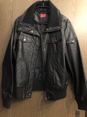 Livre Leather Jacket black