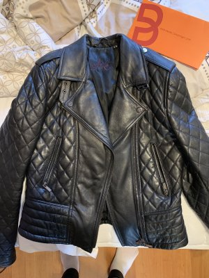 Arma Collection Leather Jacket black leather