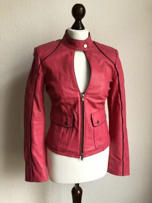 Blacky Dress Leather Jacket pink-pink leather