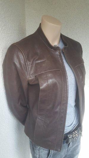 Blacky Dress Leather Jacket dark brown