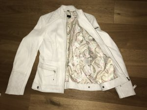 Cabrini Leather Jacket white leather