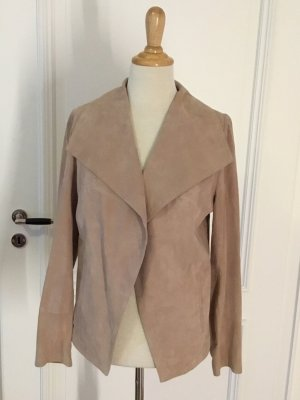 Conleys Leather Blazer cream-dusky pink leather