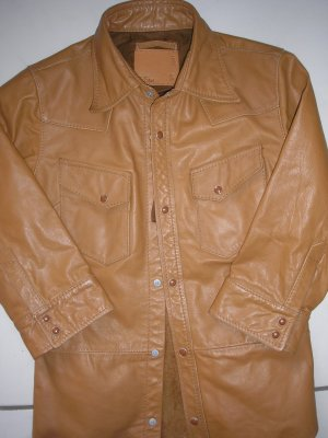 G-Star Blouse Jacket brown leather