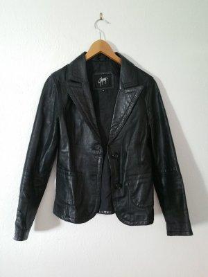 Lederjacke von Gipsy schwarz