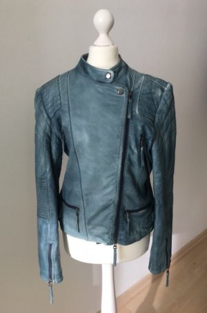 Jean Paul Berlin Veste en cuir multicolore