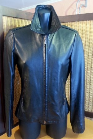 Jones Leather Jacket black leather