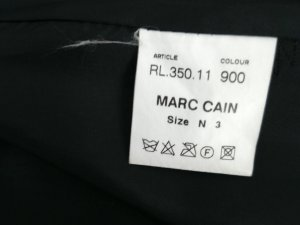 Lederjacke  von MARCCAIN schwarz