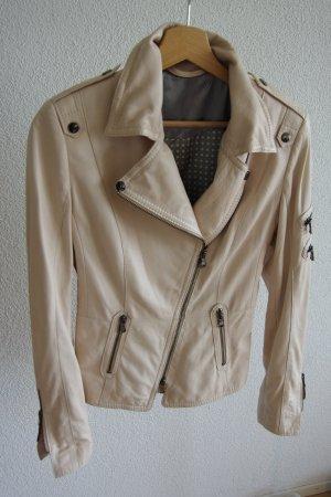 Leather Jacket light pink