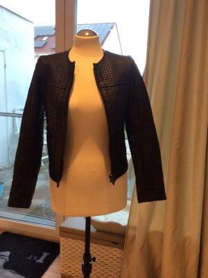 Lederjacke Zara aus echtem Leder XS