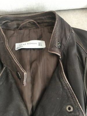 Lederjacke Zara in Größe S