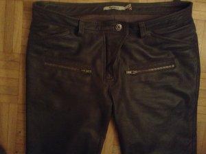 Lederjeans mit Taschen grau von Pepe Jeans