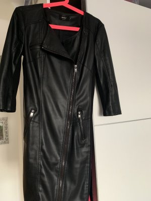 Vero Moda Leather Dress black