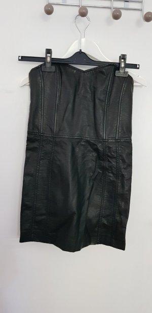 0039 Italy Leather Dress black