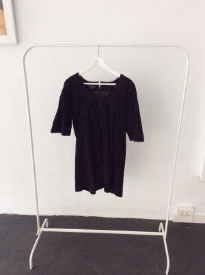 lederkleid von Margit Brandt Schwarz Babydoll #fashion #thingsilove