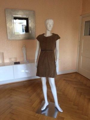 Riani Leren jurk veelkleurig
