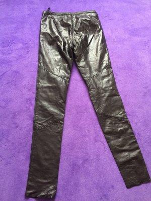 Lederleggings - echt Leder Leggings - perfekter sitz - grösse 36 - wie neu