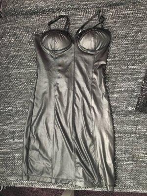 Lederlook Kleid in XS wie neu