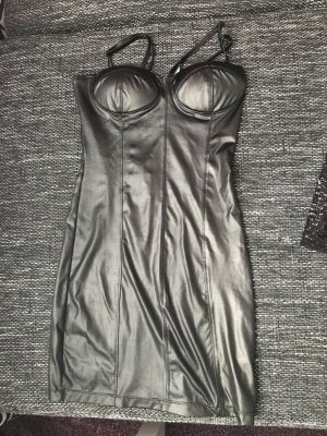 Lederlook Kleid in XS wie neu