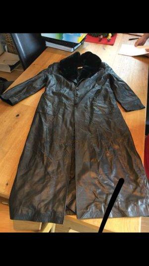 Ashley Brooke Leather Jacket black leather