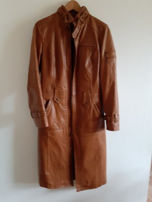 Gipsy Leather Coat brown
