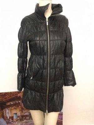Goosecraft Leather Coat black